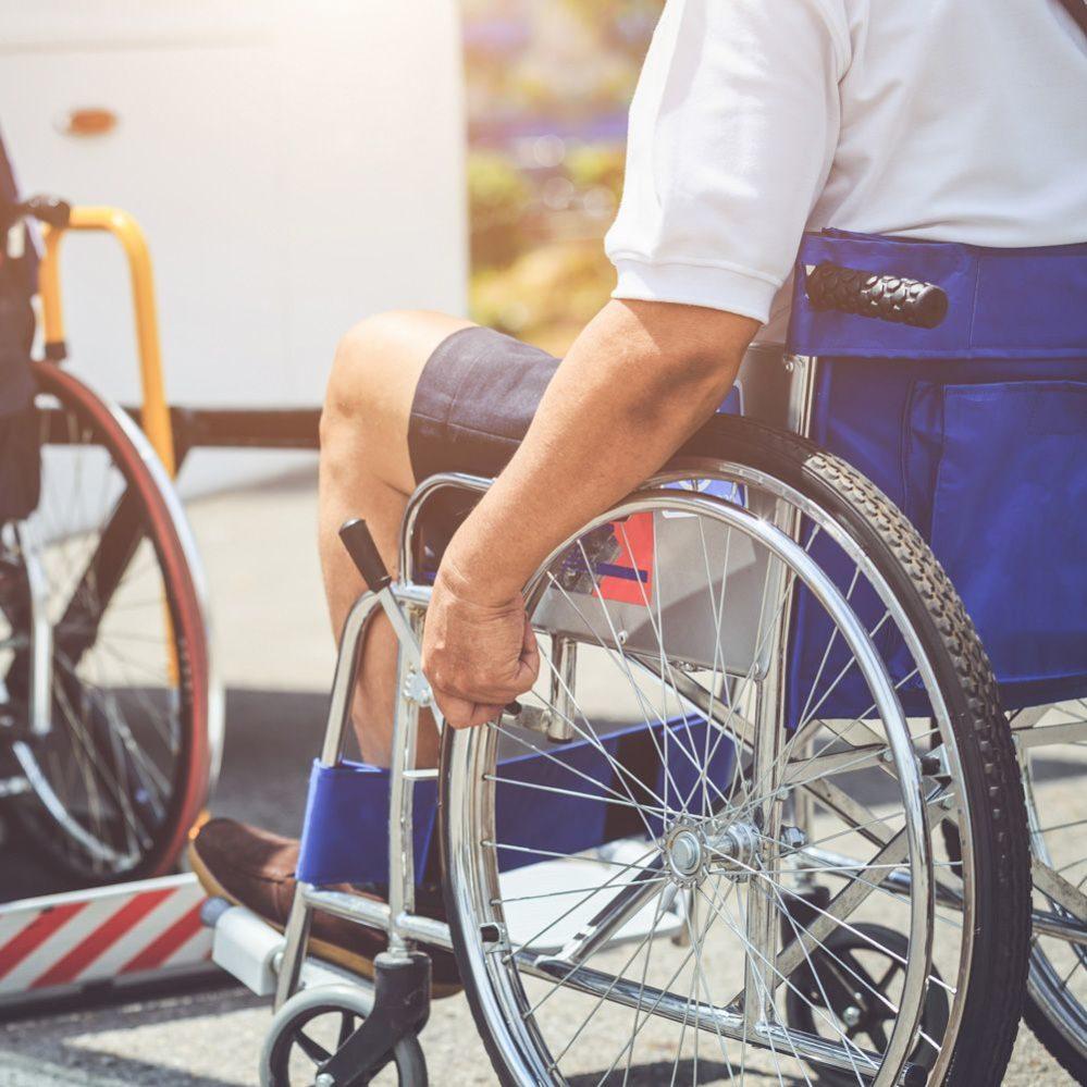 Noleggio pullman per disabili